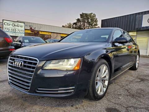 2011 Audi A8 L for sale at Car Online in Roswell GA