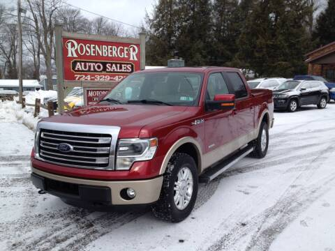 2014 Ford F-150 for sale at Rosenberger Auto Sales LLC in Markleysburg PA
