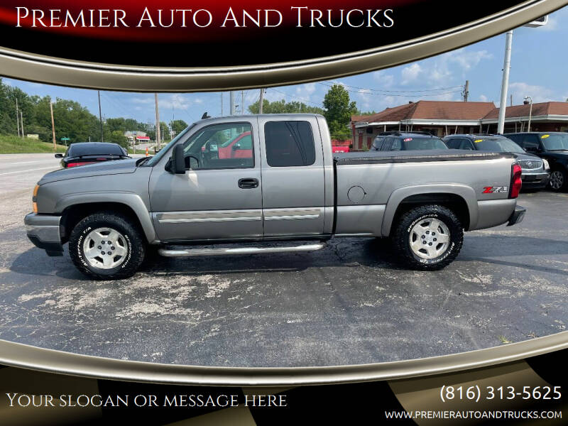 2006 Chevrolet Silverado 1500 for sale at Premier Auto And Trucks in Independence MO
