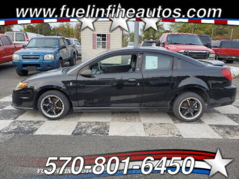 2004 Saturn Ion Red Line for sale at FUELIN FINE AUTO SALES INC in Saylorsburg PA