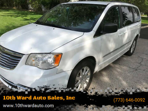 2014 Chrysler Town and Country for sale at 10th Ward Auto Sales, Inc in Chicago IL