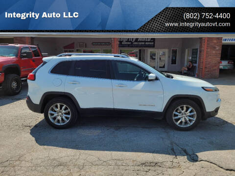 2014 Jeep Cherokee for sale at Integrity Auto LLC - Integrity Auto 2.0 in St. Albans VT