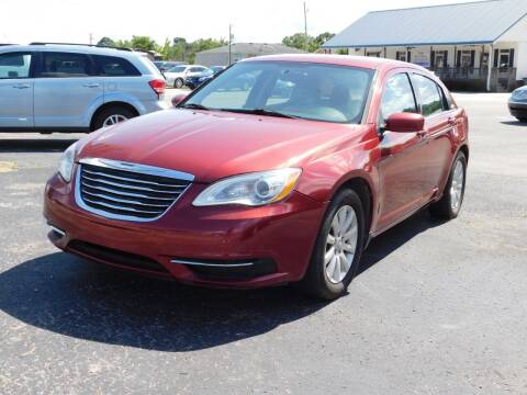 2013 Chrysler 200 for sale at National Advance Auto Sales in Florence AL