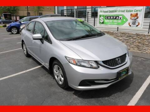 2015 Honda Civic for sale at AUTO POINT USED CARS in Rosedale MD