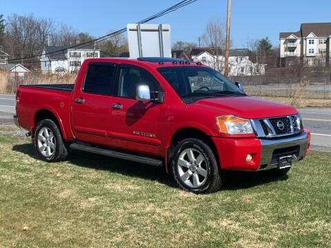 2010 Nissan Titan for sale at Saratoga Motors in Gansevoort NY