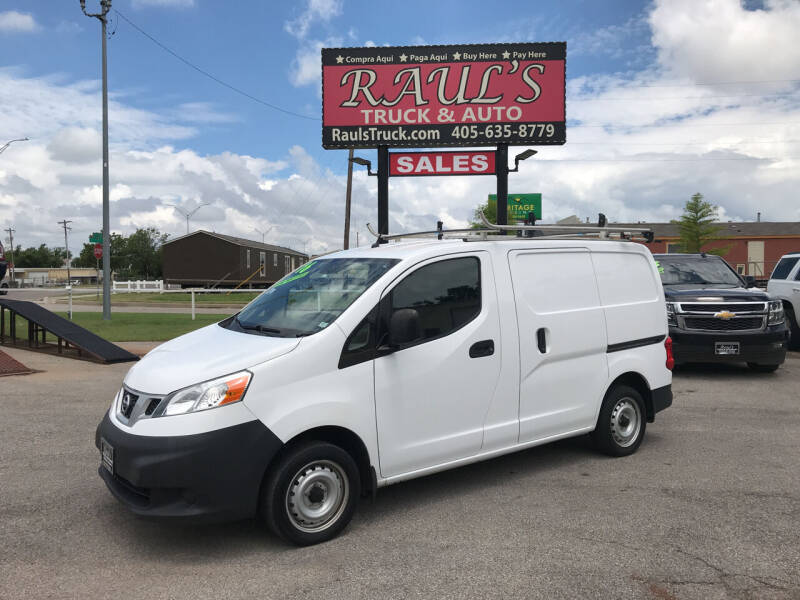 2016 Nissan NV200 for sale at RAUL'S TRUCK & AUTO SALES, INC in Oklahoma City OK