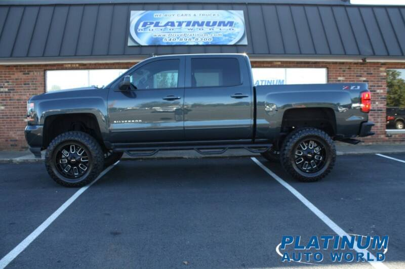2018 Chevrolet Silverado 1500 for sale at Platinum Auto World in Fredericksburg VA