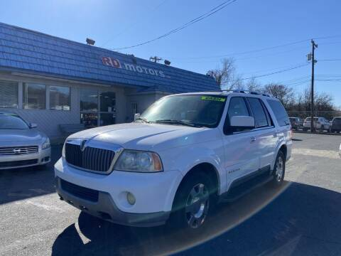 2004 Lincoln Navigator for sale at RD Motors, Inc in Charlotte NC