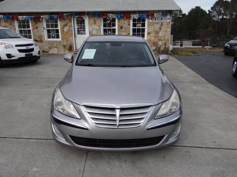 2013 Hyundai Genesis for sale at Flywheel Auto Sales Inc in Woodstock GA