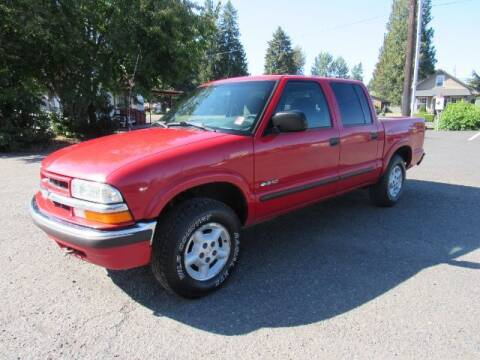 2002 Chevrolet S-10 for sale at Triple C Auto Brokers in Washougal WA