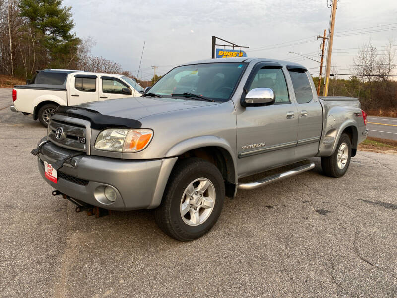 2005 Toyota Tundra for sale at Dubes Auto Sales in Lewiston ME