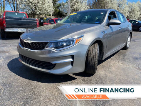 2016 Kia Optima for sale at Rayyan Auto Mall in Lexington KY