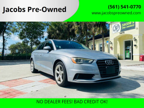 2016 Audi A3 for sale at Jacobs Pre-Owned in Lake Worth FL