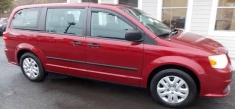 2014 Dodge Grand Caravan for sale at Bachettis Auto Sales in Sheffield MA