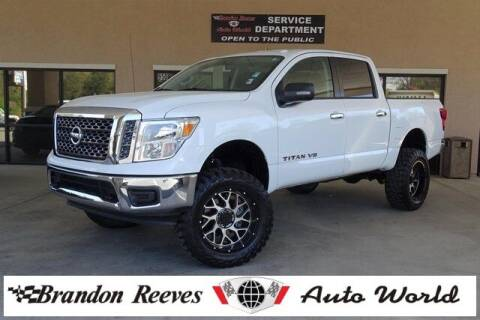 2018 Nissan Titan for sale at Brandon Reeves Auto World in Monroe NC