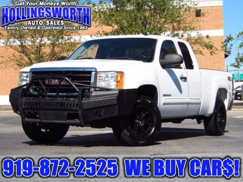 2010 GMC Sierra 1500 for sale at Hollingsworth Auto Sales in Raleigh NC