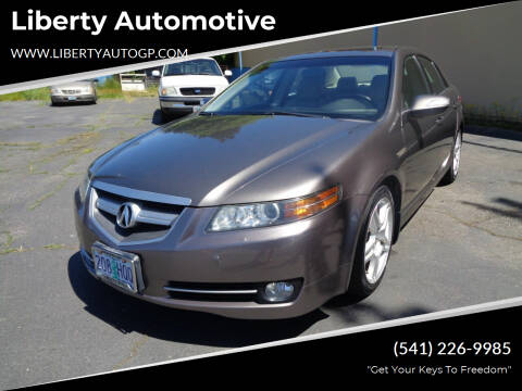 2007 Acura TL for sale at Liberty Automotive in Grants Pass OR