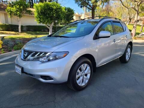 2014 Nissan Murano for sale at E MOTORCARS in Fullerton CA