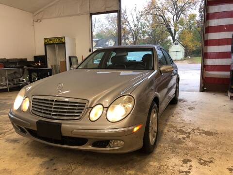 2005 Mercedes-Benz E-Class for sale at NJ Quality Auto Sales LLC in Richmond IL