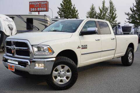 2016 RAM Ram Pickup 3500 for sale at Frontier Auto & RV Sales in Anchorage AK