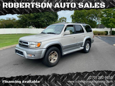 2000 Toyota 4Runner for sale at ROBERTSON AUTO SALES in Bowling Green KY