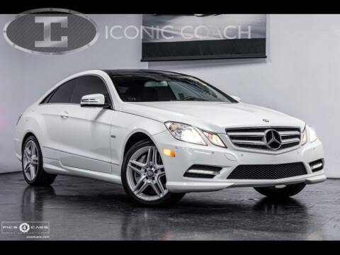 2012 Mercedes-Benz E-Class for sale at Iconic Coach in San Diego CA