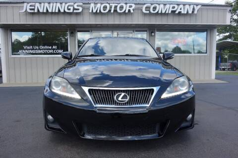 2012 Lexus IS 250 for sale at Jennings Motor Company in West Columbia SC