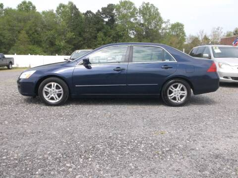 2006 Honda Accord for sale at Car Check Auto Sales in Conway SC