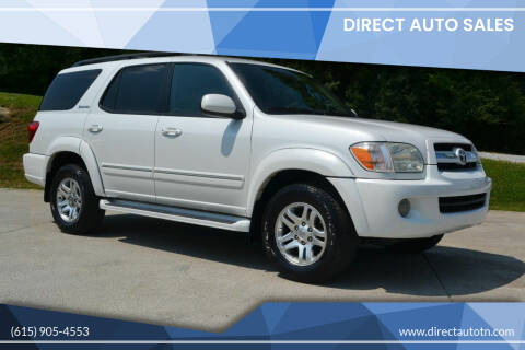 2006 Toyota Sequoia for sale at Direct Auto Sales in Franklin TN