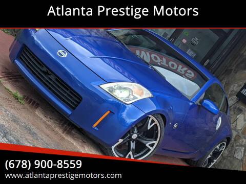 2004 Nissan 350Z for sale at Atlanta Prestige Motors in Decatur GA