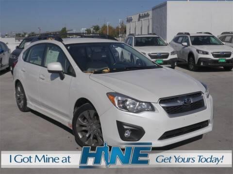 2012 Subaru Impreza for sale at John Hine Temecula in Temecula CA