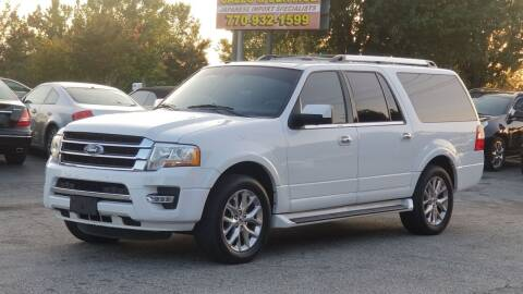 2017 Ford Expedition EL for sale at United Auto Gallery in Suwanee GA