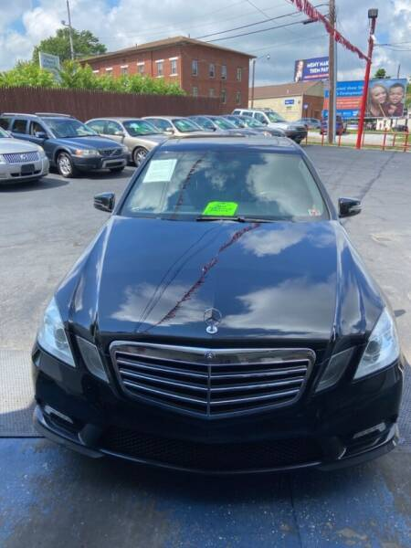 2011 Mercedes-Benz E-Class for sale at North Hill Auto Sales in Akron OH