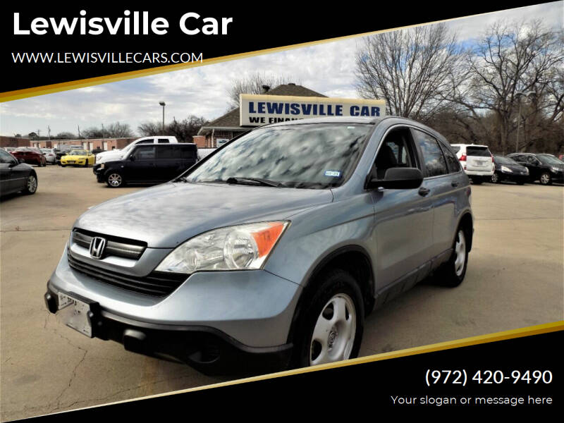 2007 Honda CR-V for sale at Lewisville Car in Lewisville TX