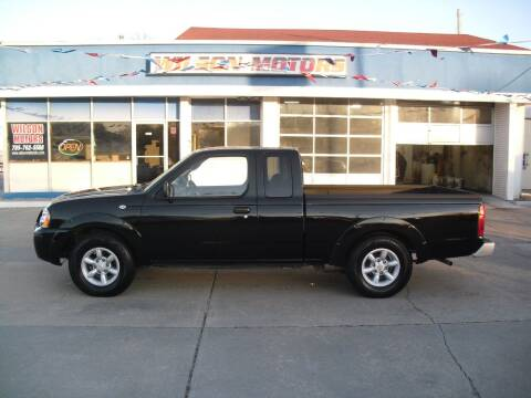 2003 Nissan Frontier for sale at Wilson Motors in Junction City KS