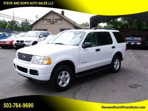 2005 Ford Explorer for sale at Steve & Sons Auto Sales in Happy Valley OR