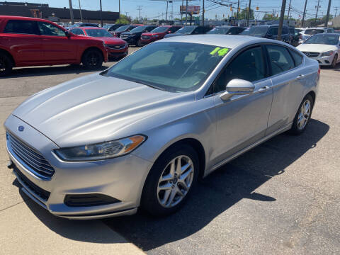 2014 Ford Fusion for sale at M-97 Auto Dealer in Roseville MI