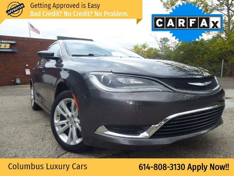 2015 Chrysler 200 for sale at Columbus Luxury Cars in Columbus OH