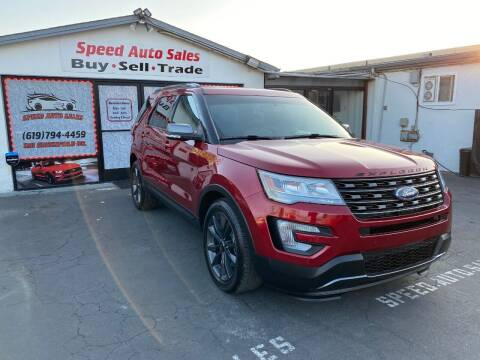 2017 Ford Explorer for sale at Speed Auto Sales in El Cajon CA