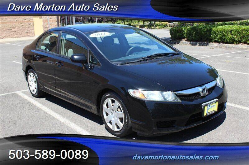 2011 Honda Civic for sale at Dave Morton Auto Sales in Salem OR