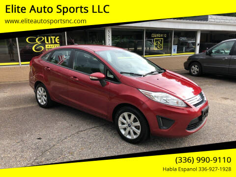 2013 Ford Fiesta for sale at Elite Auto Sports LLC in Wilkesboro NC
