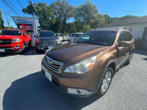 2011 Subaru Outback for sale at Sports & Imports in Pasadena MD