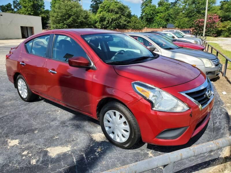 2016 Nissan Versa for sale at Ron's Used Cars in Sumter SC