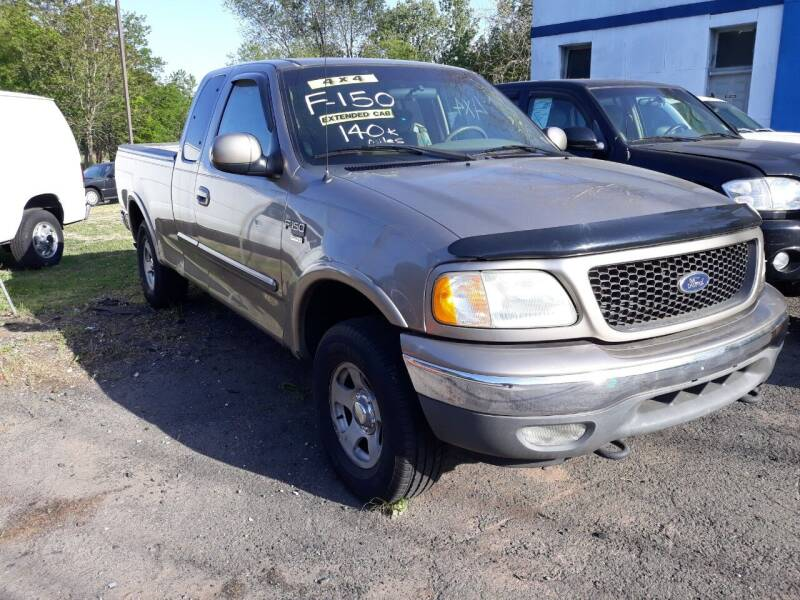 2002 Ford F-150 for sale at Inter Car Inc in Hillside NJ
