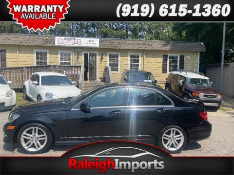 2013 Mercedes-Benz C-Class for sale at Raleigh Imports in Raleigh NC