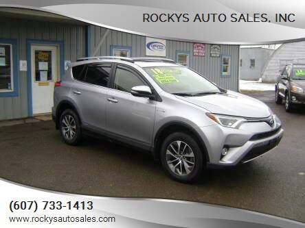 2018 Toyota RAV4 Hybrid for sale at Rockys Auto Sales, Inc in Elmira NY