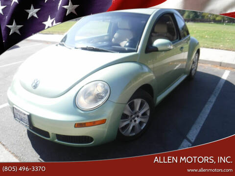 2008 Volkswagen New Beetle for sale at Allen Motors, Inc. in Thousand Oaks CA