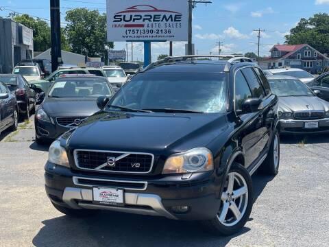 2007 Volvo XC90 for sale at Supreme Auto Sales in Chesapeake VA