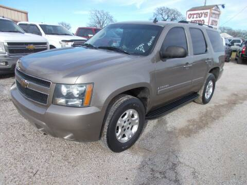 2007 Chevrolet Tahoe for sale at OTTO'S AUTO SALES in Gainesville TX