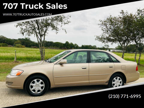 2001 Toyota Avalon for sale at 707 Truck Sales in San Antonio TX